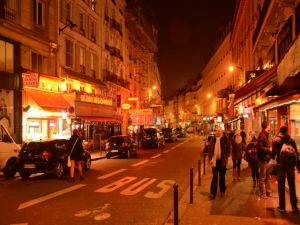 9th.Arr. - Rue du Faubourg