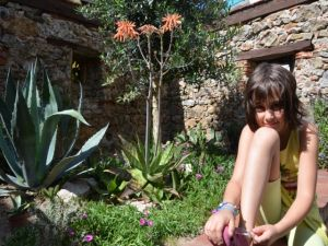 Girl at the Italien Garden - 2014