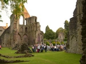 Concert at Wenlock Priory 2014
